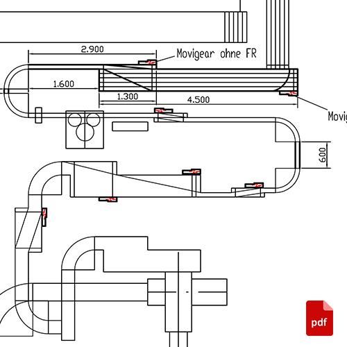 Umbau Abschrauber Massentransporteuer